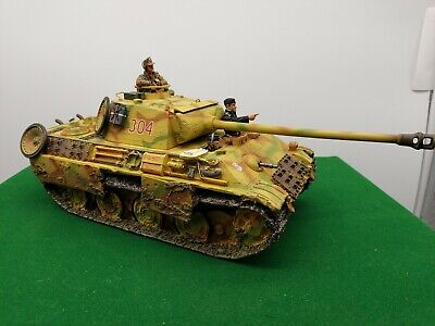 King And Country Ww2 German Normandy Panzer Tank • 349.99£
