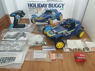 Tamiya Holiday Buggy 1/10 DT-02 Electric RC Car Off Road Buggy Brand New Build  • 150£