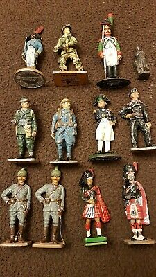 Delprado Collection Various Army Figures Soldiers Detailed Lead Paintedvice • 0.99£