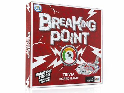 Games Hub Breaking Point Trivia Board Game - Team Play - Family Game - New • 9.99£