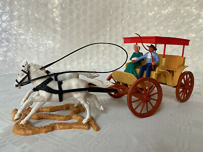 Timpo Toys Wild West Wagon - Surrey (with A Fringe On Top) • 17.99£