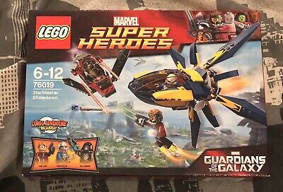 Lego Marvel Superheroes 76019 Starblaster Guardians Of The Galaxy New Sealed • 25£