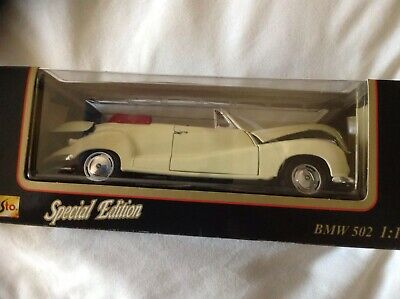 1/18th Model Car BMW 502 SPECIAL EDITION UK POST ONLY • 40£