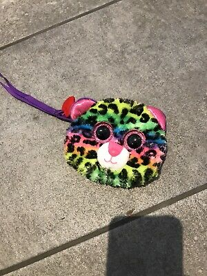 TY Collectable Animal/leopard Rainbow Purse • 0.99£