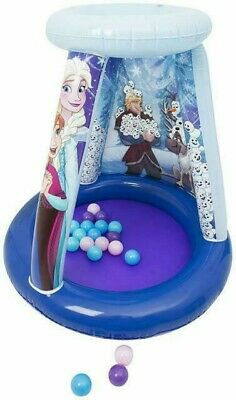 Disney Frozen Inflatable Round Playland Ball Pit New Indoor Or Outdoor Kids Toy • 19.95£