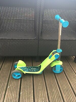 Smoby Children's Switch Blue 2-In-1 Rider-On Scooter Unisex 18 Months To 4 • 20£