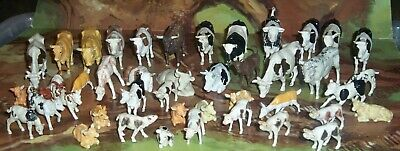Big Lot Of Britains Plastic Cows & Calves With Highland Steer - Nice Collection • 24.75£
