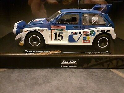 Sunstar METRO 6R4 1:18 Classic Rally Collectables • 95£