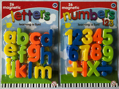 Magnetic Lower Case Letters And/or Numbers - Kids Toy/ Learning/ Fridge Magnets • 4.10£