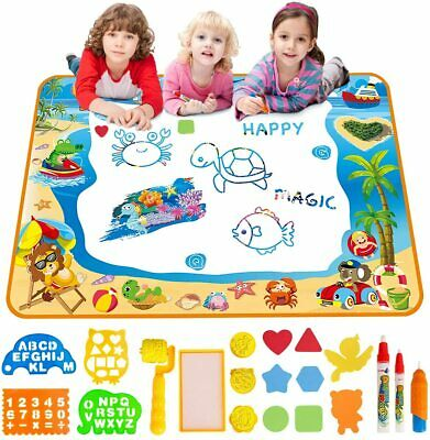 Water Doodle Mat Aqua Drawing Painting Large 100 X 70cm Mess Free...  • 30.79£