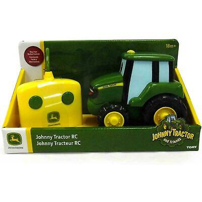 John Deere Remote Controlled Green Johnny Tractor Tomy 42946 • 22.95£