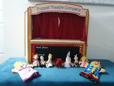 ELC Wooden Folding Puppet Theatre Company Early Learning & Finger Puppets • 34.99£