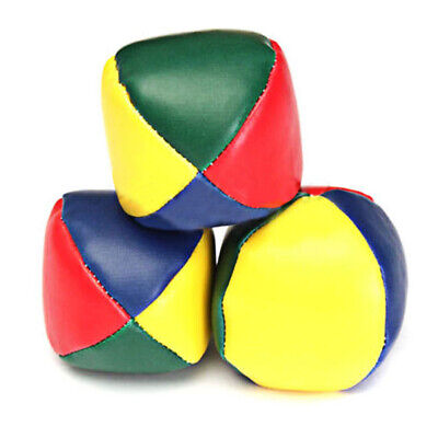 Juggling Balls Classic Bean Bag Juggle Magic Circus Beginner Kids Toy • 2.21£
