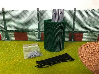 Scalextric Boarder Net Fencing With Posts - Straight • 10.90£