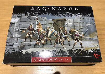 New Confrontation Ragnarok War Staff Of Alahan: The Valiant Lions Of Alahan OOP • 45£