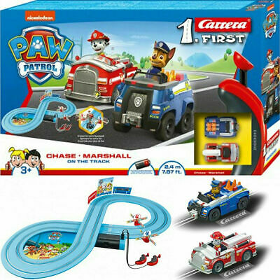 Paw Patrol Track Racing System Chase & Marshall Carrera Like Scalextric New  • 32.95£