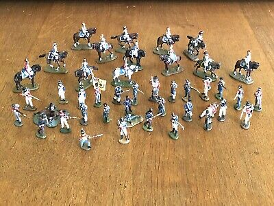Del Prado Relive Waterloo X44 INFANTRY & CAVALRY - JOB LOT VGC • 22£