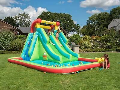Large Childrens Inflatable Garden Bouncy Castle/Pool/Cannon/Water Slide/Ball Pit • 404.95£