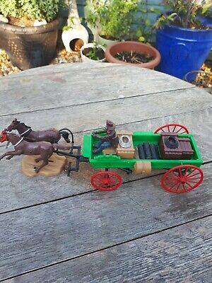 Britains Cowboy Chuck Wagon.metal And Plastic. • 5.50£