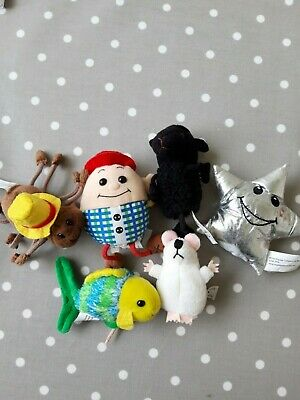 Bundle Of 6 Nursery Rhyme Themed Finger Puppets From The Puppy Company Ltd • 14£