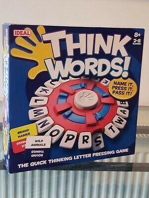 Think Words Game From Ideal - New • 5£