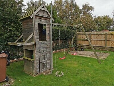 Wooden Climbing Frame Used • 0.01£