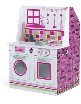 Chad Valley 2 In 1 Wooden Kitchen And Dolls House • 20£