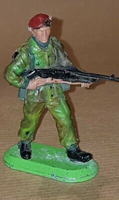 Extremely Rare Britains RED BERET Super DEETAIL 1978 Pose 6300 • 52£
