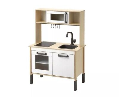 *Exc Cond* Ikea Play Kitchen With Lights, Toaster, Pans, Utensils & Play Food • 49£