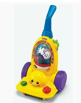 💛🧡FISHER PRICE LEARNING VACUUM EDUCATIONAL TOY Age  12/36 Months 💚💛 • 3£