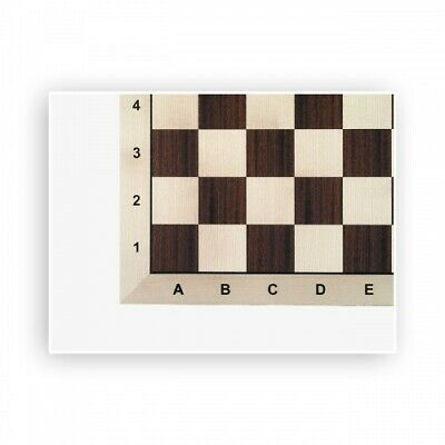 Chessboard - Mahagoni-Ahorn - Tournament - Field Size 58 MM • 61.52£