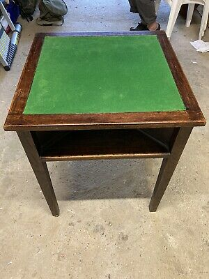 Vintage Card Table COLLECTION ONLY PERFECT FOR XMAS FAMILY GAMES. **SALE!!! • 30£