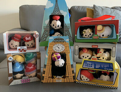 Bundle Of Disney Tsum Tsum Boxsets Ltd Edition Boxed Disney Store • 21£