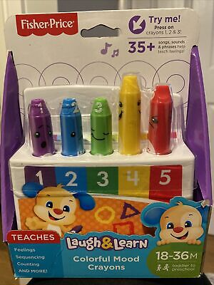 Fisher Price Laugh & Learn Colourful Mood Crayons • 3£
