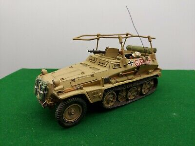 King And Country Ww2 German Rommels Greif Halftrack • 189.99£