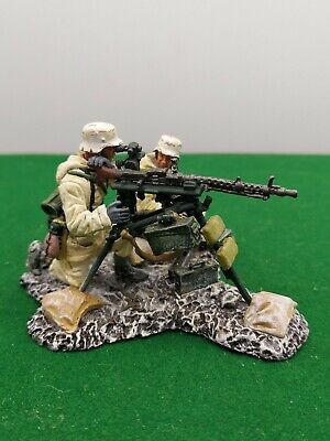 King And Country Thomas Gunn Ww2 German Winter Soldier D24 • 89.99£