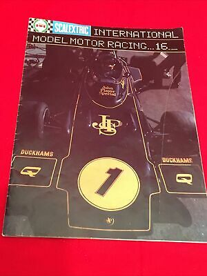 Vintage Scalextric Catalogue 1975 Issue 16 • 8.95£