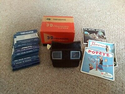 View-master Vintage Model E Bakelite Viewer With 26 Reels - Boxed • 0.99£