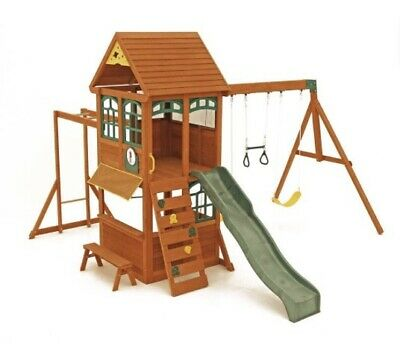 Selwood Wooden Climbing Frame With Slide • 249£