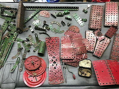 Vintage Red & Green Meccano  • 10£
