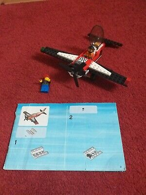 Lego Plane And Two People With Instructions  • 7.50£