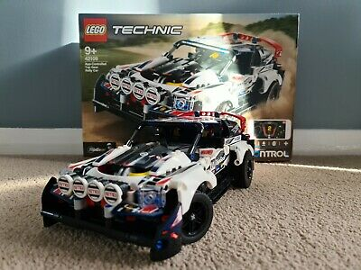 Lego Technic App-Controlled Top Gear Rally Car (42109) Made Once! Complete Set • 9.99£