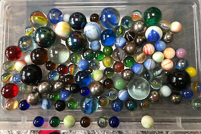 Vintage Marbles Job Lot • 2.30£