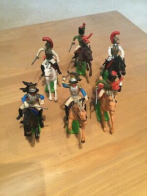 Britains Deetail Napoleonic Waterloo French Calvary X6 • 35£