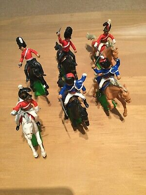 Britains Deetail Napoleonic Waterloo British Calvary X6 • 32£
