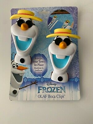 Disney Frozen Olaf Towel Clips Brand New • 6.50£
