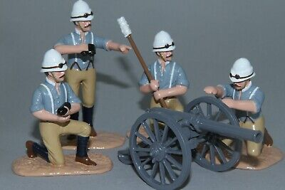 SC38 - British Camel Corp Royal Artillery Crew With Screw Gun From Regal • 80£