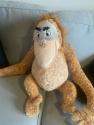 Official Disney King Louie Jungle Book Large Plush Orangutan Flawless • 4.99£