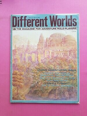 Different Worlds Magazine Issue 27 Mar 1983 - Chaosium Rpg Roleplaying Runequest • 22.50£