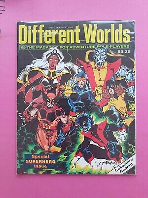 Different Worlds Magazine Issue 243 Aug 1982 - Chaosium Rpg Roleplaying Brp Osr • 22.50£